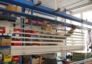 In der gut eingerichteten Werkstatt reparieren unsere Facharbeiter fast alles.
