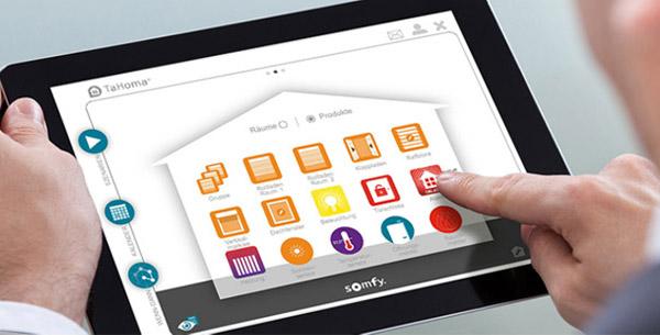 Smart Home Steuerungen / Somfy