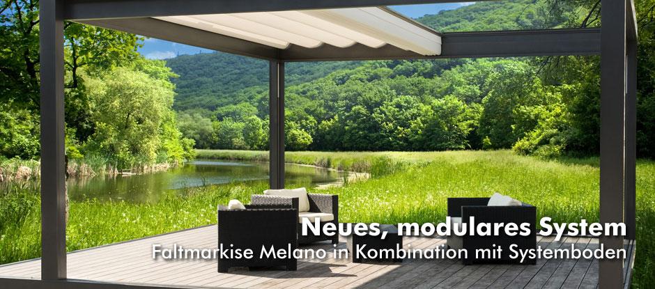Slider Startseite Melano / Bodensystem