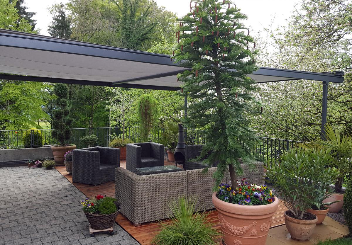 Sonnen- Und Wetterschutz Pergolino / Referenz Gommiswald 2