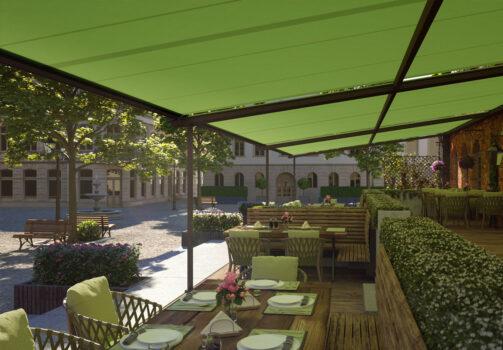 Pergolino Terrassenbeschattung Von Stobag