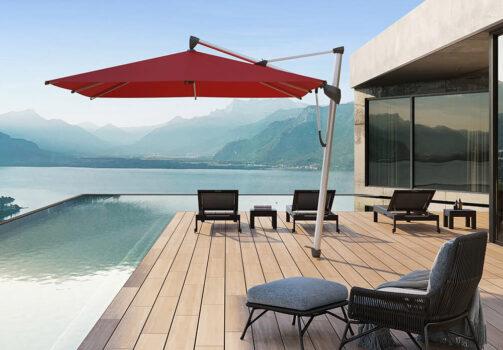 Freiarm-Sonnenschirm Sombrano S+ © By GLATZ AG, Schweiz