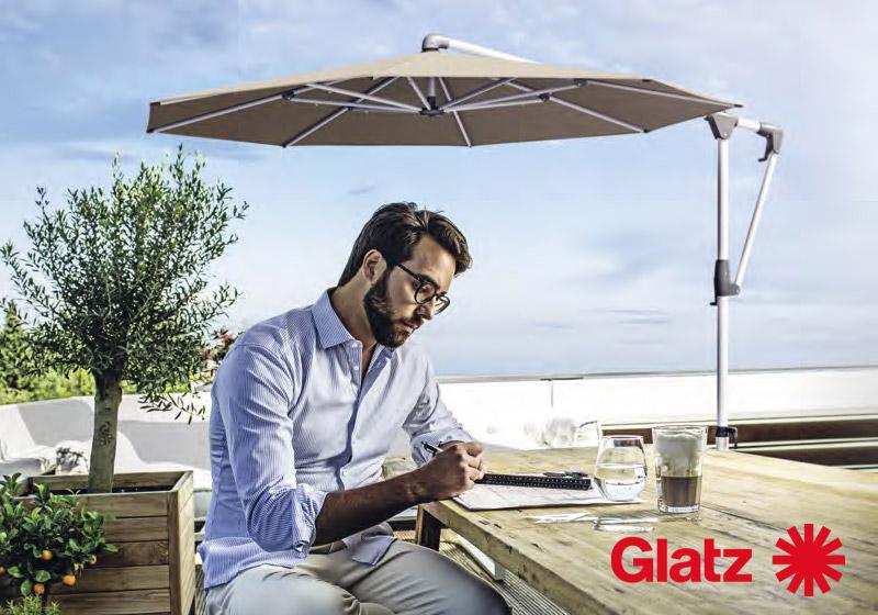 Sonnenschirme © By GLATZ AG, Schweiz